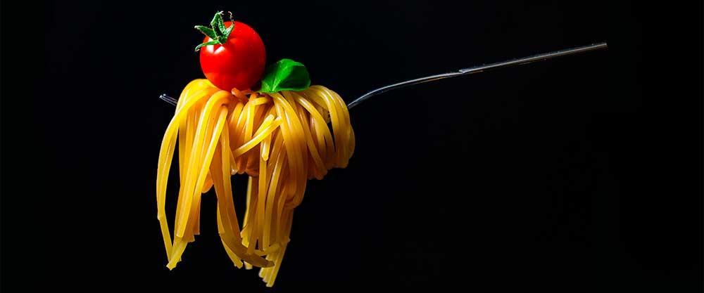 Österreichischer Wein als Speisebegleiter zu Spaghetti