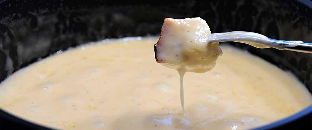 Österreichischer Wein als Speisebegleiter zu Käse - Fondue