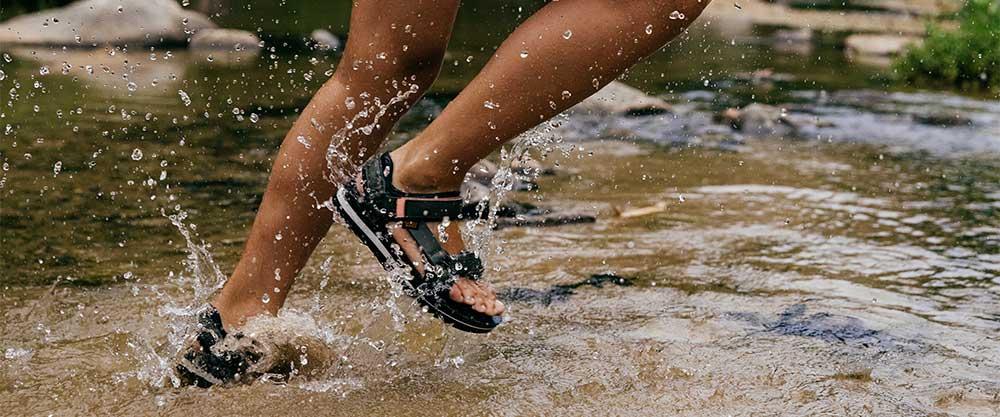 Teva Schuhe sind geeignet für Wasser