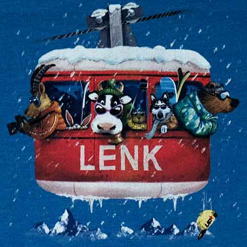 Lenk Gondeli, Kinder T-Shirt